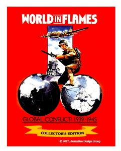 World in Flames Collector's Edition Deluxe game (slighty damaged corner)