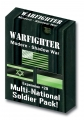 Warfighter Modern Shadow War- Expansion 29 Multi-National Soldier Pack