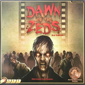 Dawn of the Zeds 3rd Edition (second printing)